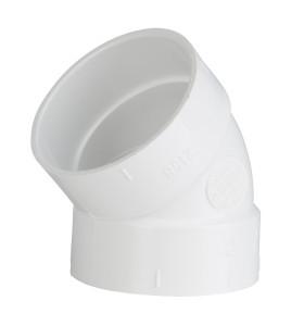 Formteile Rohrsystem 45° Bogen
